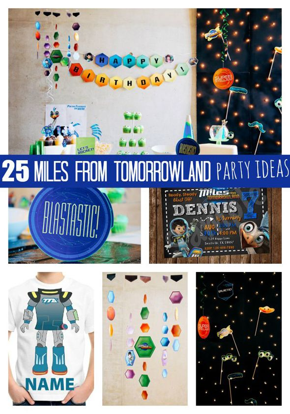 25 Blastastic Miles From Tomorrowland Party Ideas - Pretty My Party