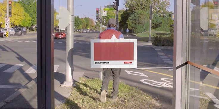 Sid Lee Made a Bus-Shelter Sensor That Turns Nearby Colors Into Swatches, to Sell Paint – Adweek