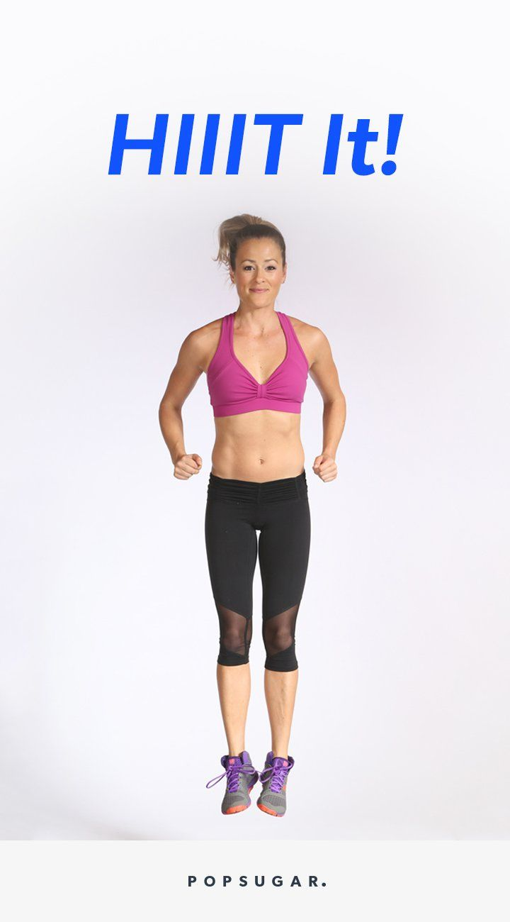 This 20-minute HIIT workout will work your entire body. Mixing all kinds of burpees with classic strength-training moves, trainer Astrid McGuire keeps the pace high for the entire video.