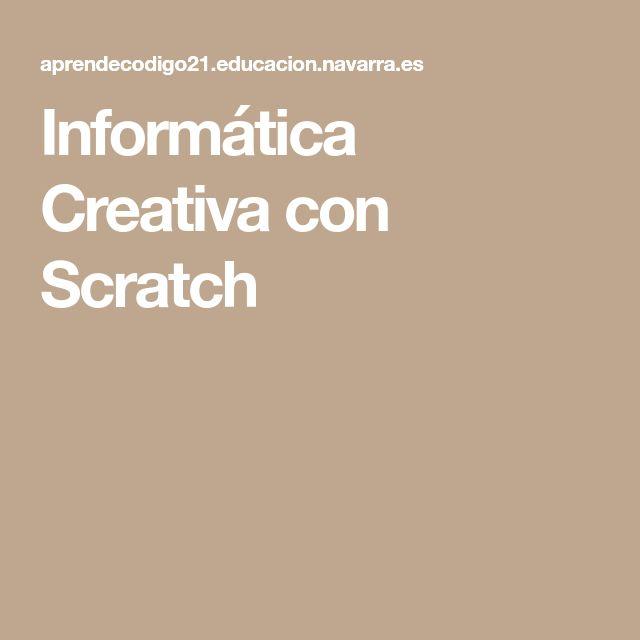 Informática Creativa con Scratch