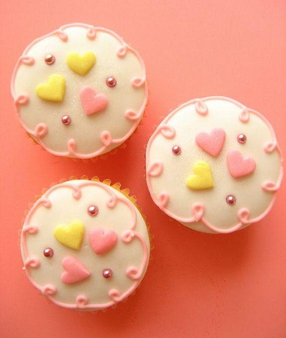 Valentine's-Valentine'S Day, Cute Cupcakes, Valentine Day Cupcakes, Pretty Cupcakes, Cupcakes Decor, Cake Decor, Baking Ideas, Cups Cake, Valentine Cupcakes
