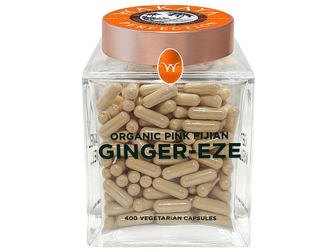 What We're Loving Right Now | WAKAYA GINGER CAPSULES | Andrea Lavinthal, Style and Beauty Director: It's the time of year when one person in the office gets sick then takes the rest of us down like dominoes. So far I've managed to my bi-annual sinus infection and I'm convinced that these ginger capsules are the reason why. I've been taking the supplements for two months in addition to drinking loads of tea made from the brand's proprietary organic pink Fijian ginger powder (that was the most…