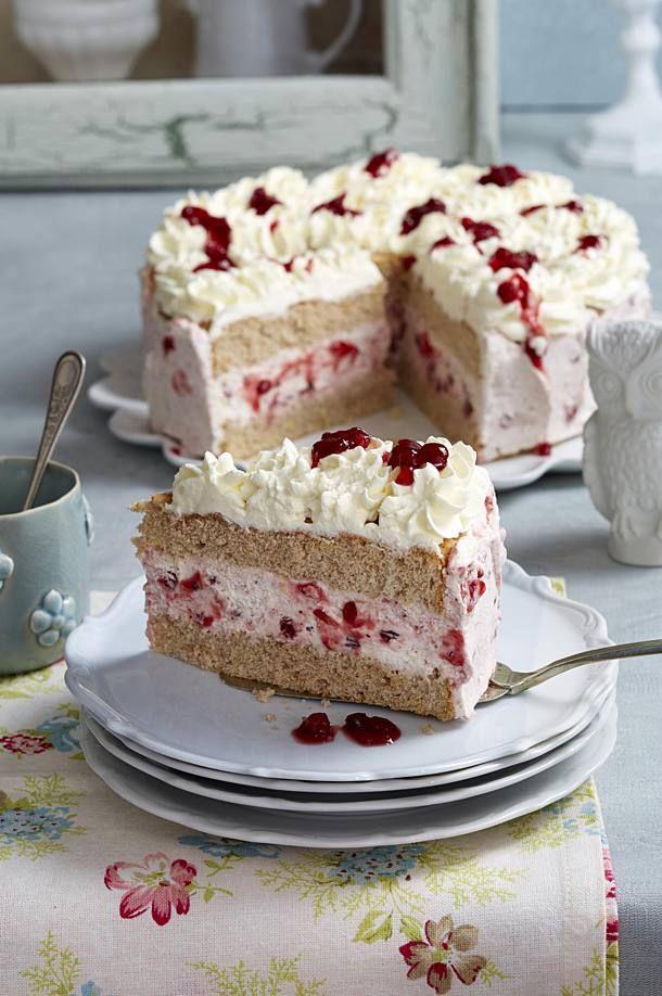 Buchweizen Preiselbeer Torte Rezept In 2020 Kuchen Und Torten Torten Rezepte Und Glutenfreie Torten