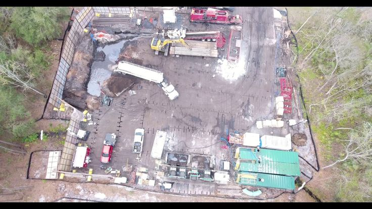EXCLUSIVE: Sabal Trail Pipeline Spills Covered Up by Federal Agency, Pipeline Company   --   Sabal Trail Pipeline Spills (Part 1/6): Aerial Drone Footage of HDD Site