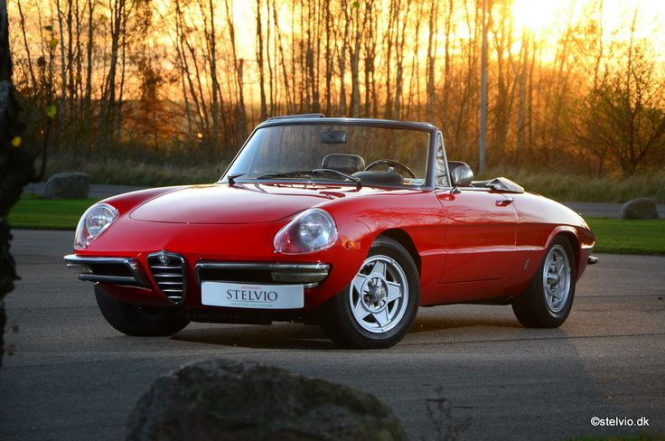 Alfa Romeo Spider 1750 Duetto - 1969 Maintenance/restoration of old/vintage vehicles: the material for new cogs/casters/gears/pads could be cast polyamide which I (Cast polyamide) can produce. My contact: tatjana.alic@windowslive.com