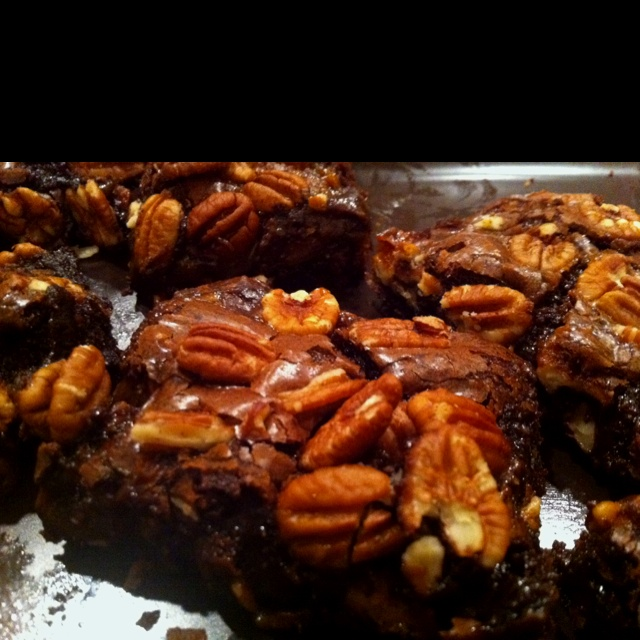 Caramel pecan brownies | Sweet Tooth | Pinterest