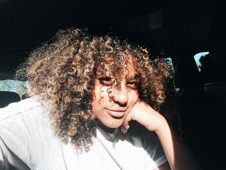 #smiles #curls #sunny #happy #adidas
