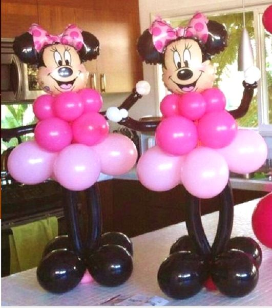 Minnie Mouse Birthday Party Table Centerpieces ,Minnie Mouse Birthday Party Ideas