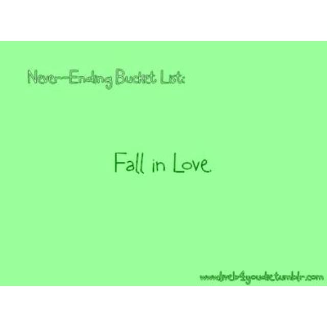 : Buckets Lists, Envelopes