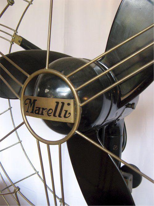 Marelli Floor Fan Vintage 1950s In 2019 Antique Fans