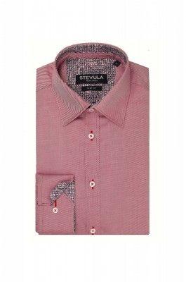 Červená Twill pánska košeľa
