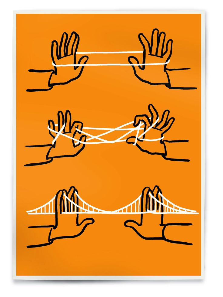 Christoph Niemann, silkscreen, Brooklyn Bridge (orange&black&white) Edition of 50, signed and numbered 3 color silkscreen, 60cm x 42cm /24in x 16in Paper Munken Pure 170g/m2 220€ / 250$ Order http://right-now.me/brooklyn-bridge-orange.html