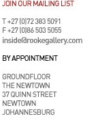 Rooke Gallery works with a small stable of select artists.