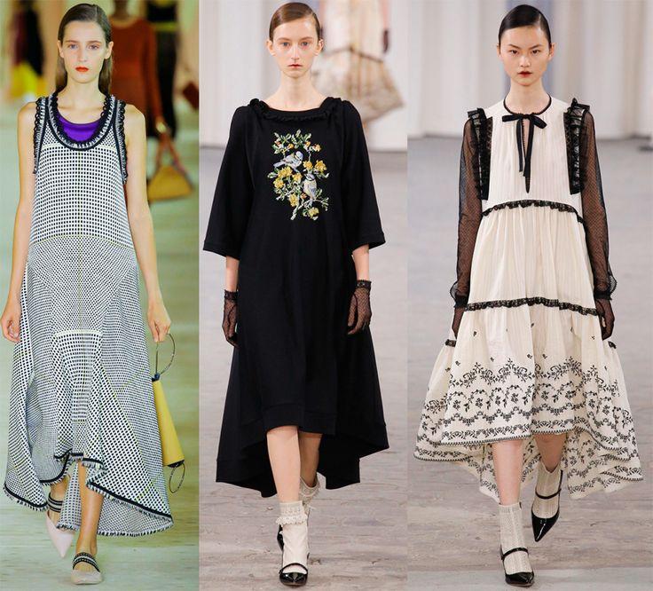 Модные платья-маллет