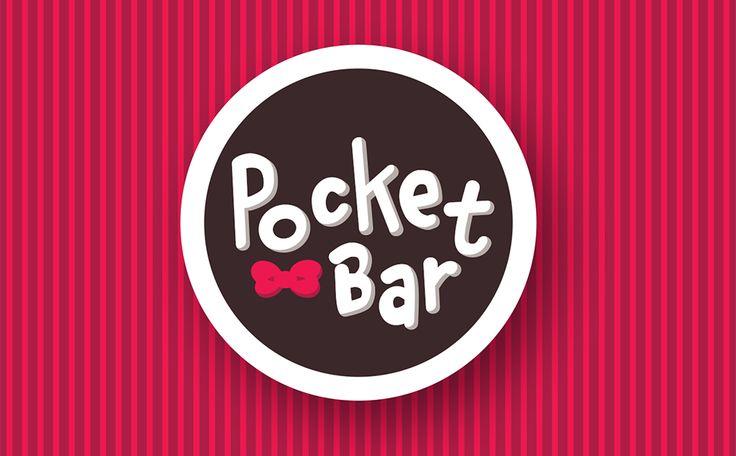 Logo per caffè Pocket Bar di BwithC