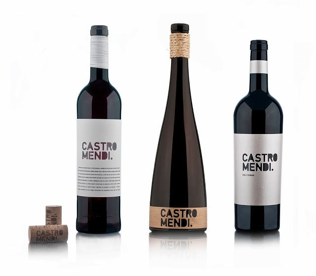 Bodegas Castro Mendi on Packaging of the World - Creative Package Design Gallery