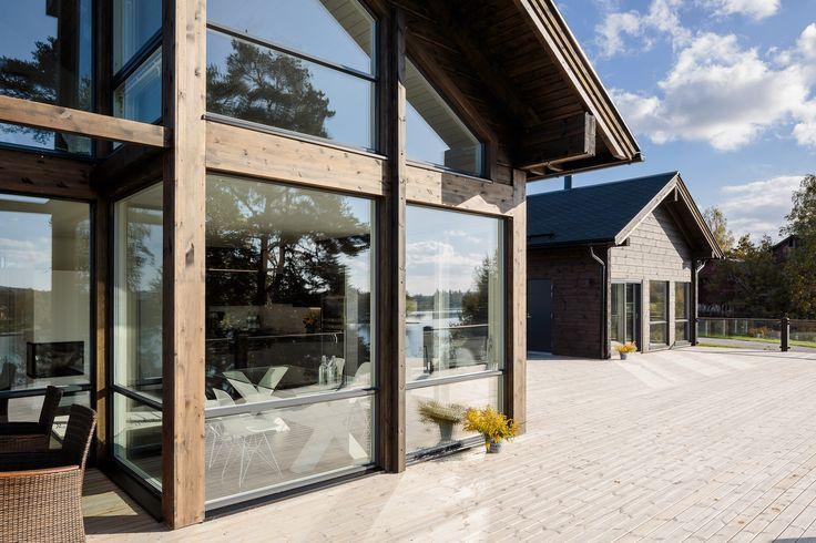Villa Helenius architectural design by Jussi Hietalahti Arkkitehtitoimisto J10 Oy.