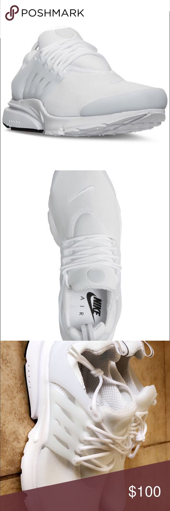 Nike Presto No box|| never worn|| all white Nike Shoes Sneakers