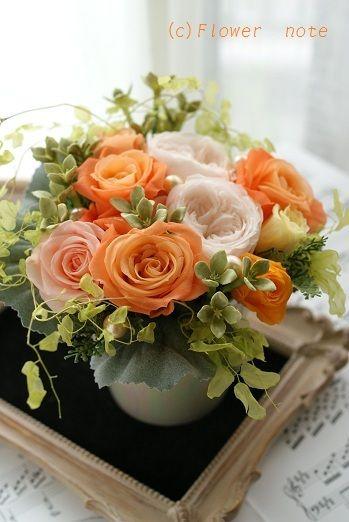 『【祝花】音楽コンサートの可愛いアレンジ」 http://ameblo.jp/flower-note/entry-11300929312.html