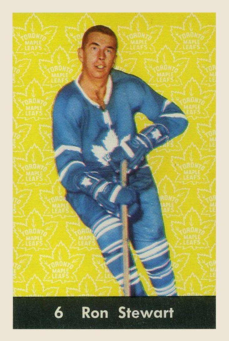 Ron Stewart  1961-62  Parkhurst Hockey Card