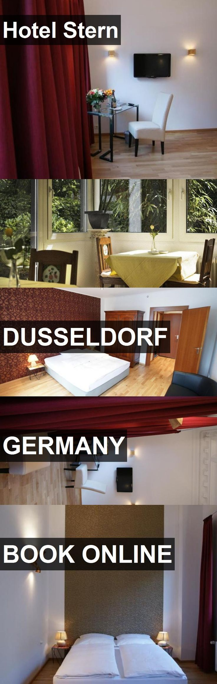 Hotel Stern in Dusseldorf, Germany. For more information, photos, reviews and best prices please follow the link. #Germany #Dusseldorf #travel #vacation #hotel