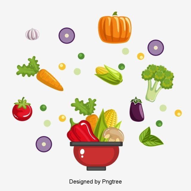 Vektor Razlichnyh Zdorovyh Produktov Pishevoj Klipart Ovoshi Zdorovaya Pisha Png I Psd Fajl Png Dlya Besplatnoj Zagruzki Healthy Food Logo Healthy Recipes Food Clipart