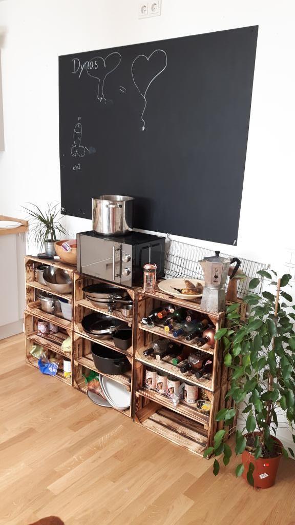 17 Best ideas about Diy Küchenregal on Pinterest   Wohnheim regale ...   {Küchenregal 84}