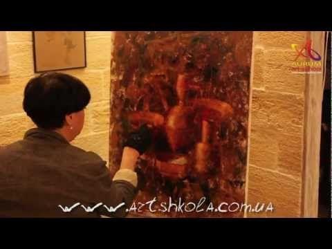 Мастер-класс живописи Елены Ильичевой - Рембрандт