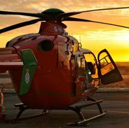 We've signed up to donate yearly to Wales Air Ambulance. They only run through funding and so need all the help they can get.  One day you may need them.... #pembrokehire #wales