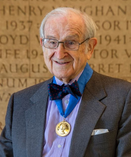 Joseph Rykwert presented with 2014 Royal Gold Medal for architecture in London | Photo credit: Morley von Sternberg | Bustler