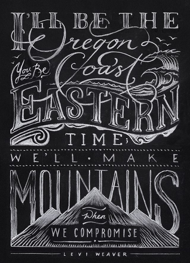 Best 25 chalkboard typography quotes ideas on pinterest Chalkboard typography