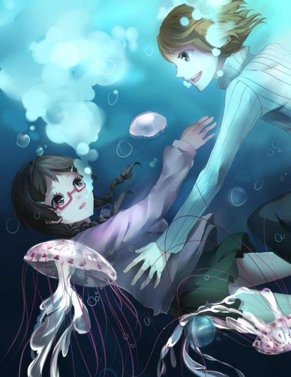 Kuranosuke And Tsukimi Fanfiction princess jellyfish tsu...