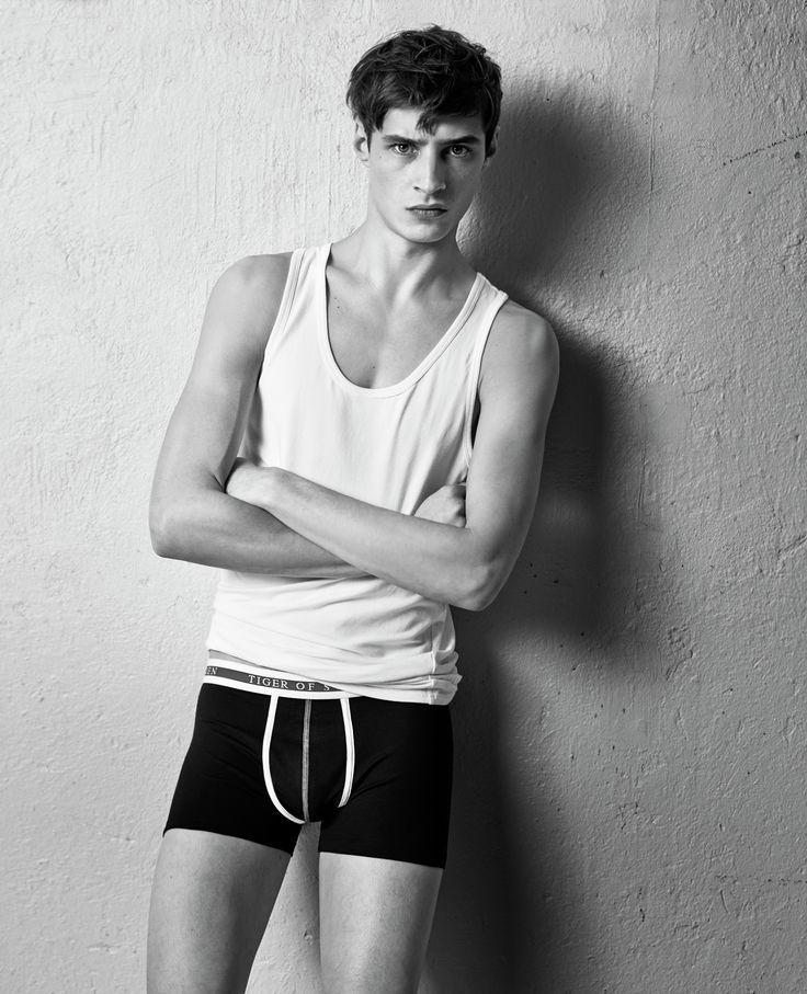 Adrien Sahores Poses for Tiger of Sweden 2014 Underwear Campaign