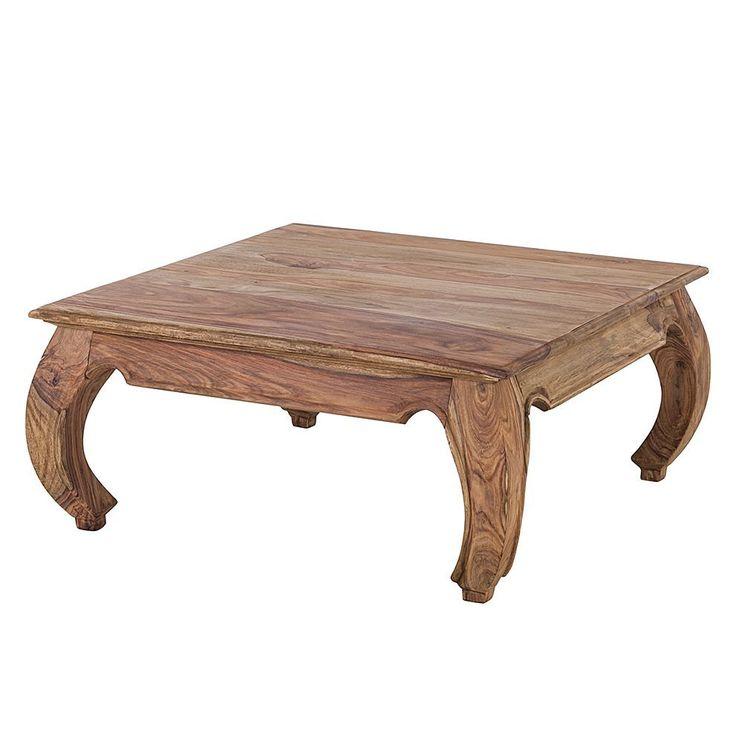 Couchtisch Indien Opium - Sheesham Holz, Natur - quadratisch, Wolf Möbel Jetzt bestellen unter: https://moebel.ladendirekt.de/wohnzimmer/tische/couchtische/?uid=9f0363c9-50eb-57c1-a52f-4694a64c20d4&utm_source=pinterest&utm_medium=pin&utm_campaign=boards #möbel #wolf #beistelltische #couch #wohnzimmer #couchtische #tische
