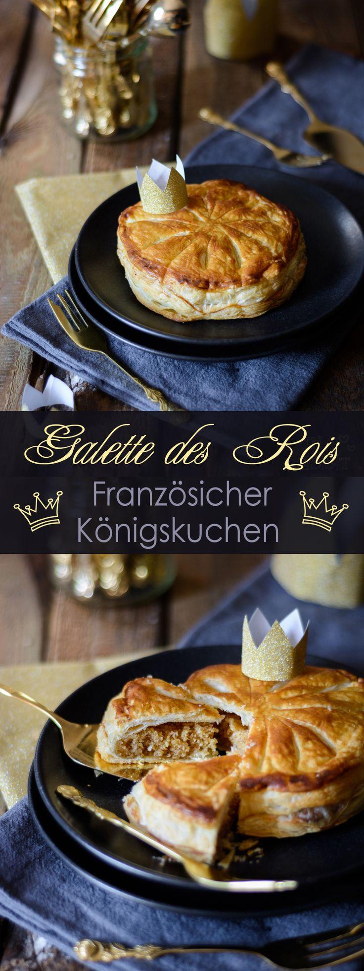Galette des Rois - Französischer Königskuchen