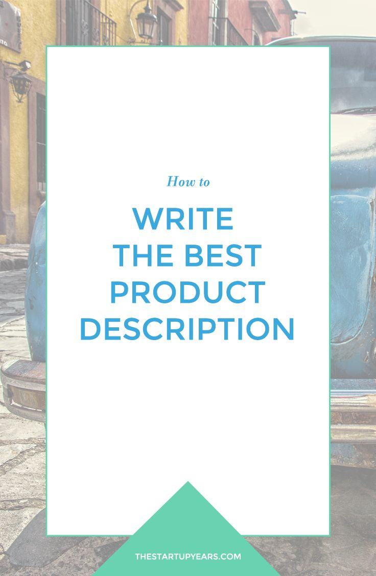 When a customer is shopping online they can't see or feel your product, so you need to have stellar photos and write the best product description. Learn how to write the best product description that will sell your product in no time. Selling made easy peasy. Read more or pin + save for later!