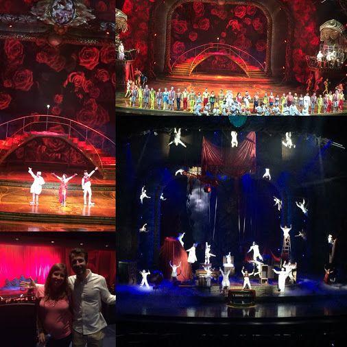 Momentazos del #cirquedusoleil en #LasVegas Impresionante puesta en escena y maravillosas actuaciones!