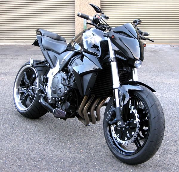 Motorcycle Turbo Modified: Turbo Honda CB1000 Streetfighter