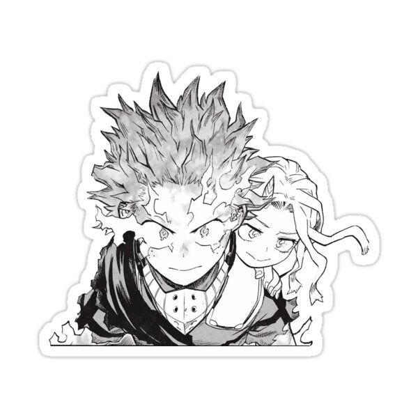 My Hero Academia Deku And Eri Sticker By Korstonesword In 2020 My Hero My Hero Academia Hero