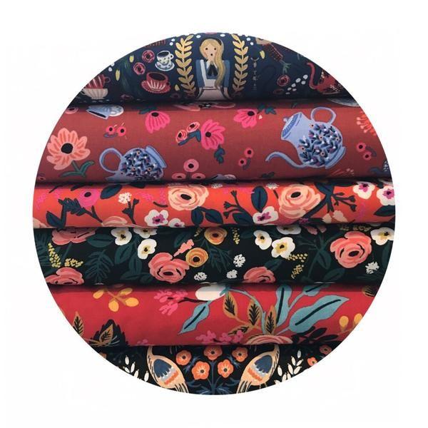 Online Fabric Canada - Rifle Paper Co - Cotton + Steel - Les Fleurs