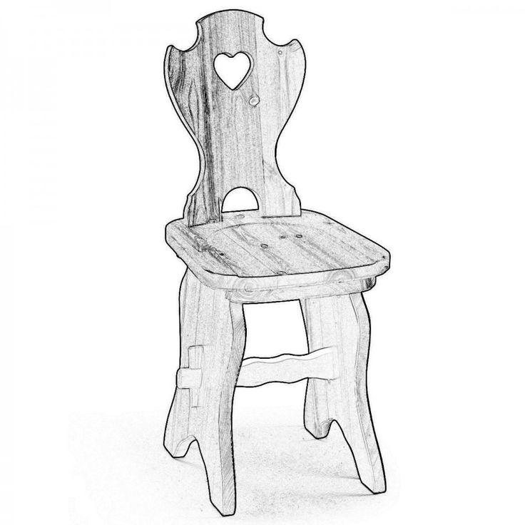 CERVINIA, è una sedia tirolese con schienale a cuore ma con una robusta base che richiama lo stile dei tavoli tirolesi. Questa sedia non è verniciata ma fornita in legno grezzo per falegnami e amanti del fai da te che desiderano verniciarla a loro piacimento.