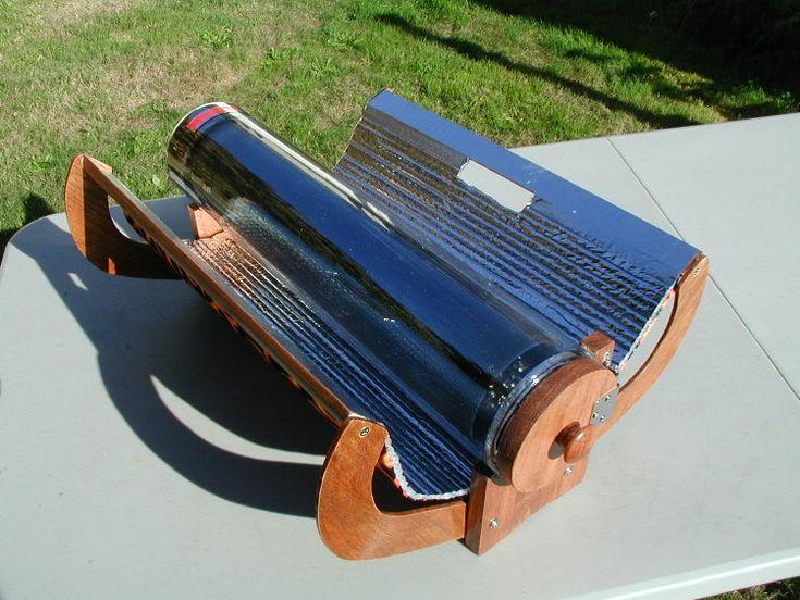 Evacuated tube solar cooker designs | Solar cooker, Solar ...