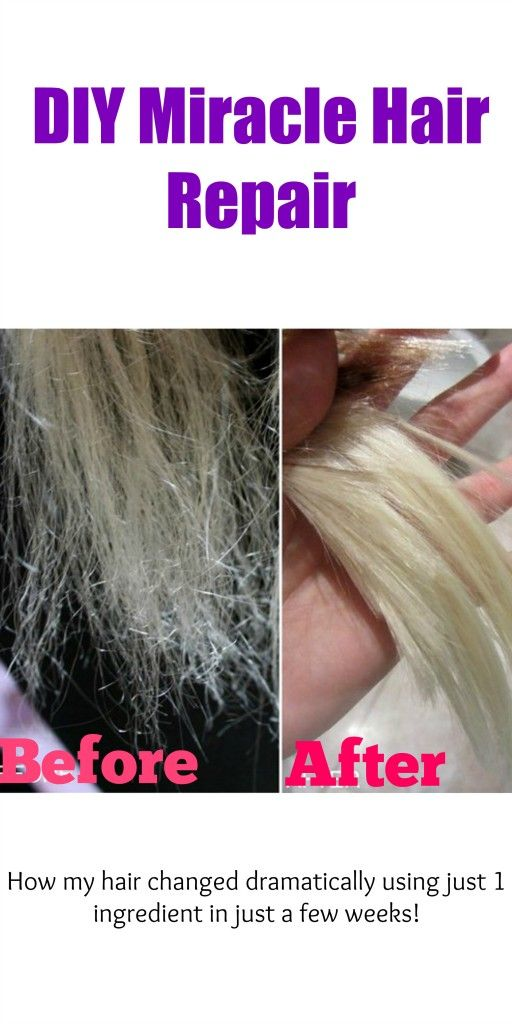 diy miracle hair repair
