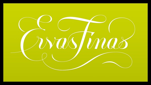 Ervas Finas #logodesign #lettering #identity