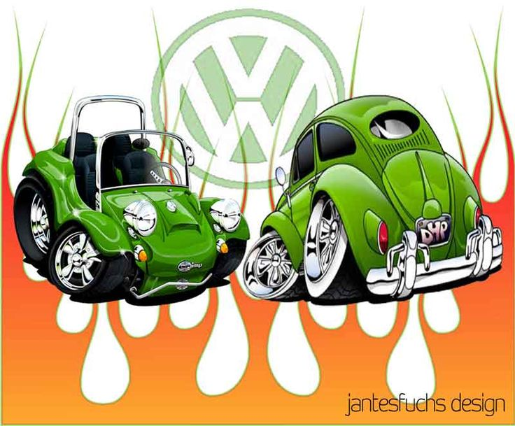 1000 images about beetle on pinterest cars cartoon and volkswagen - Coloriage cars toon ...