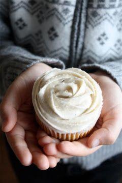 Steph in the cuisine: Cupcakes à la citrouille, Cream Cheese vanille & cannelle