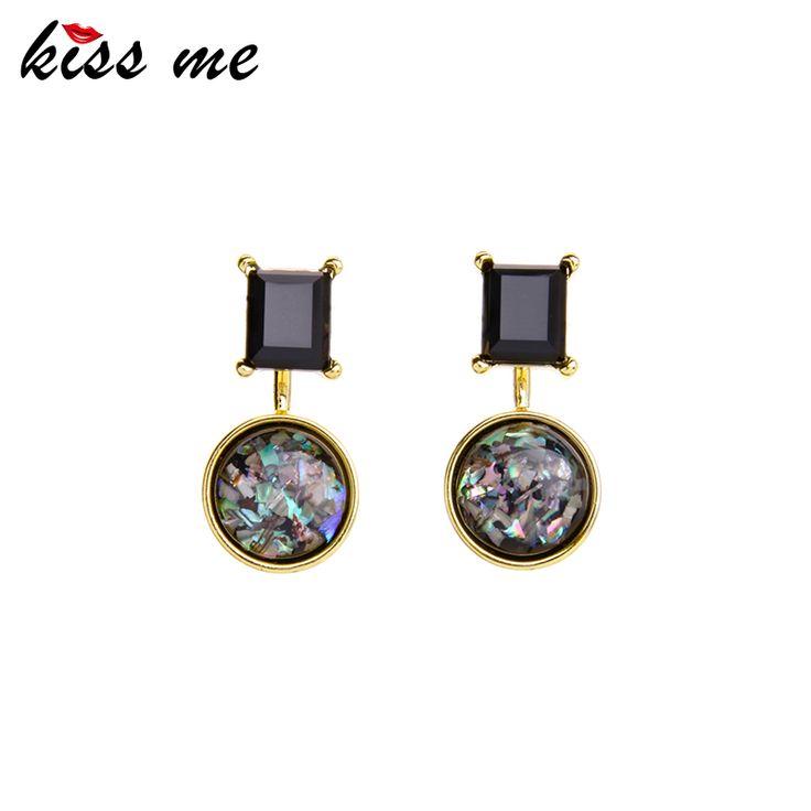 Alloy Detachable Statement Earrings New Design Round Ear Drops Earrings Fashion Jewelry Women Gift