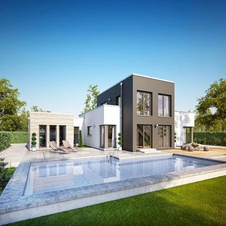 moderner bungalow concept m 100 v9 von bien zenker