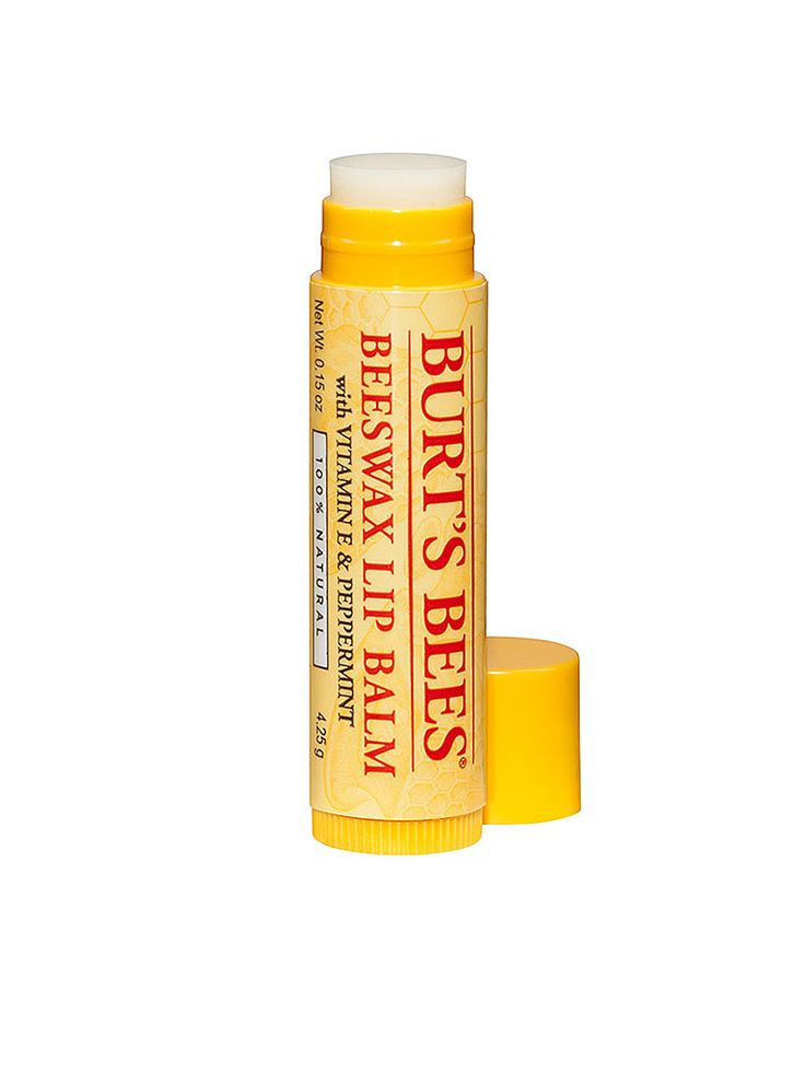 BURT'S BEES LIP BALM!!! Still my all time favorite lip balm!!! ❤️