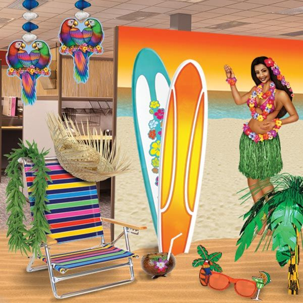 office summer party ideas. how to turn your office party into a luau paradise summer ideas e